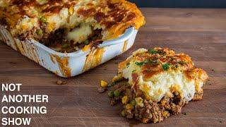 how to make SHEPHERD'S PIE (cottage pie)