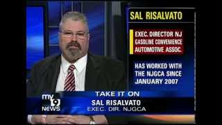 NJGCA in the News: Sal discusses gasoline prices, debates Eric Bolling (as seen on My9 News)