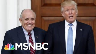 What Is President Donald Trump Hiding From His Staff Against Their Wishes? | The Last Word | MSNBC