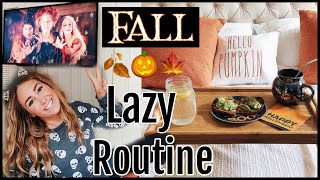 FALL Lazy Day Routine// VLOGTOBER 2018
