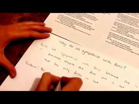 essay writing p e e