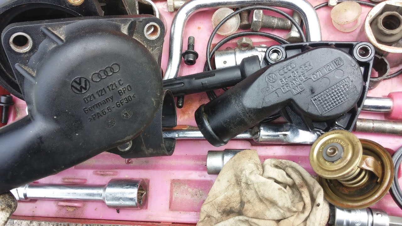 Seat Toledo Mk2 Vr5 Engine Coolant Thermostat Housing