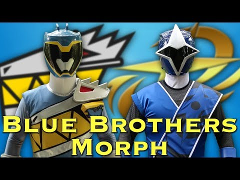 The Sudarso Blue Brothers [Power Rangers Morph]