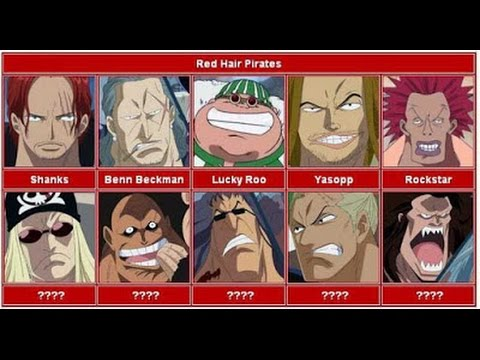 Red Hair Pirates VS Marines