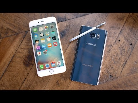 Apple iPhone 6s Plus vs Samsung Galaxy Note 5!