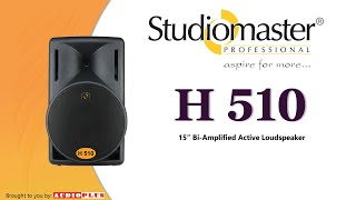H510 Active Loudspeaker by Studiomaster Professional