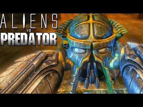 "Aliens vs Predator #4 (Gameplay/PT-BR) - ""PREDATOR"" - Artefato Perdido"
