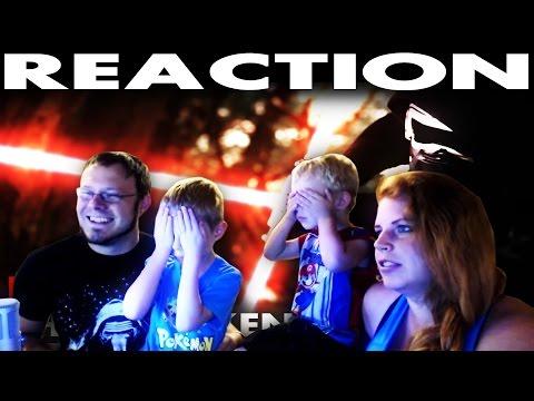 Aaron's Family REACTION to Kylo Ren - The Awakening