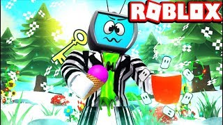 All Marshmallows Location + Secret Puzzle + How To Beat The Winter Obby Roblox Ice Cream Simulator
