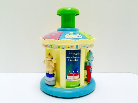 IN THE NIGHT GARDEN Musical VTech Spinning Toy!