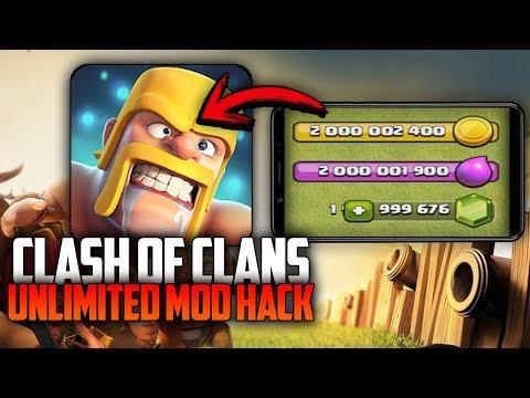 Clash of Clans v10.134.7 SERVER DEDICADO 2018 (Unlimited Mod/Hack)