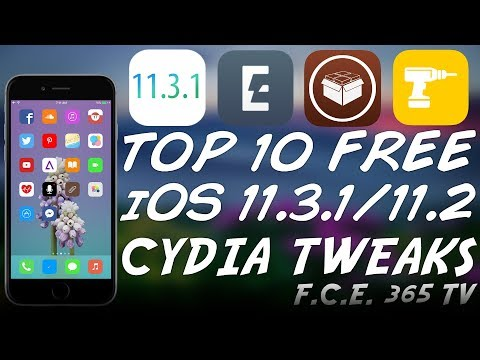 TOP 10 FREE AWESOME iOS 11.3.1/11.2 CYDIA TWEAKS (For Electra Jailbreak)