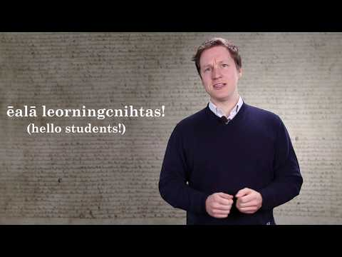 Old English Grammar Byte 4: Weak and Strong Verbs