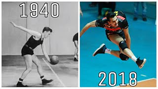Volleyball Serve Evolution 1940 - 2018 (HD)