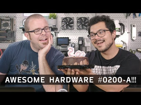 Celebrating 200 Episodes, WoW Classic, 3dMark VRR - Awesome Hardware #0200-A