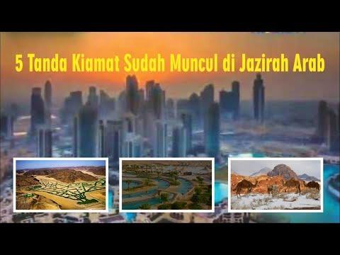 5 Tanda Kiamat Telah Muncul di Jazirah Arab
