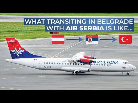 TRIPREPORT | Air Serbia (Economy) | Vienna - Belgrade - Istanbul | ATR 72-200 / Airbus A319