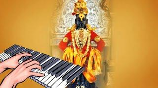 jya sukha karne dev vedavala marathi bhajan on piano