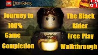 LEGO Lord Of The Rings The Black Rider Free Play Walkthrough (All Collectibles)