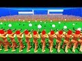NEW SNOWBALL GUN SOLDIER vs 1,000,000 TOY SOLDIERS IN WOODEN BATTLES (Wooden Battles Funny Gameplay)