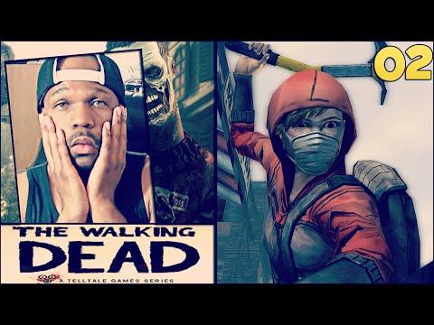 The Walking Dead Episode 4 Part 2 - Kenny Got Leg Swept LOL