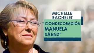 Reconocimiento Michelle Bachelet #BacheletEnLaAsamblea