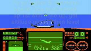 Top Gun NES - How to Land the Plane and Refuel