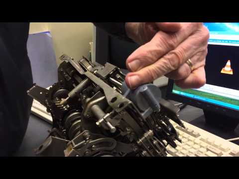Inside a Model 28 Teletype