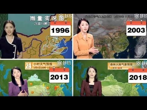 Chinese Weather Woman Stuns The World By Not Aging For 22 Years On Screen, And Here's The Proof