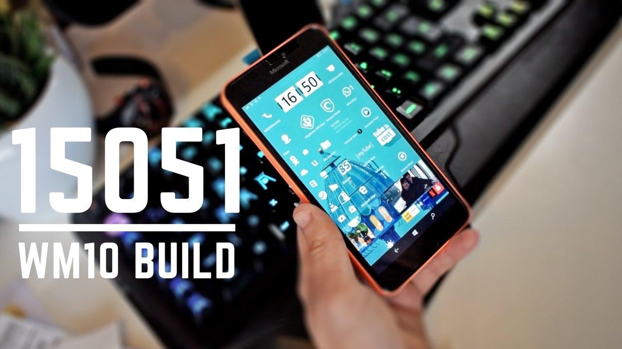 Lumia 640 windows 10 mobile experience on the web windows central - Windows 10 Mobile Creators Update Build 15051