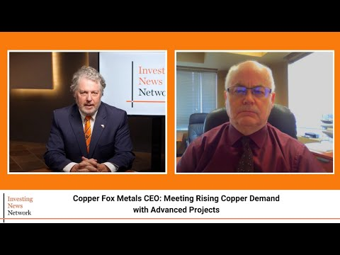Copper Fox Metals CEO: Meeting Rising Copper Demand with Advanced Projects