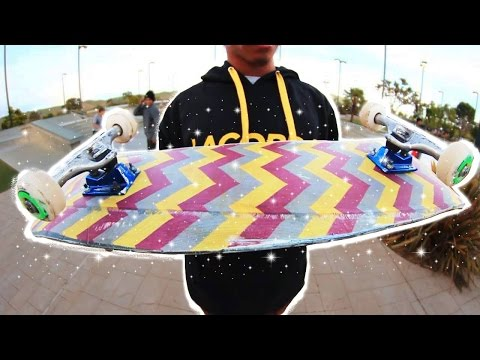 100% FABRIC SKATEBOARD! PLUS BIG BOWL SESH | YOU MAKE IT WE SKATE IT EP 109