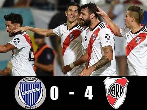 Resumen Godoy Cruz vs River Plate/Superliga Argentina 2018/19