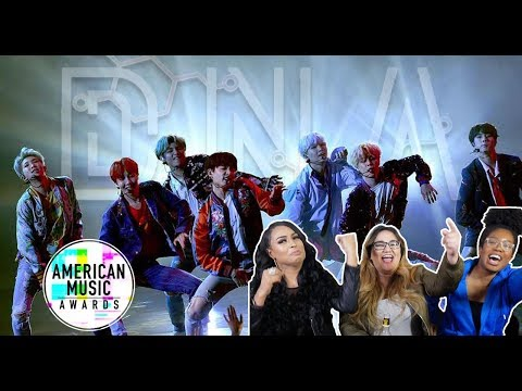 BTS (방탄소년단) DNA AMA PERFORMANCE LIVE REACTION || TIPSY KPOP