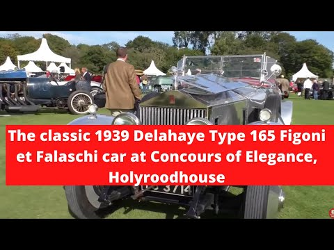 2015 Concours of Elegance at The Palace of Holyroodhouse - A Walk around the Concours Lawn