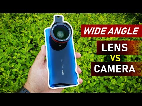 Mobile Wide Angle LENS vs CAMERA: Shocking Results 🔥🔥