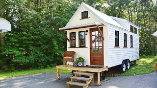 New Farmhouse Style 8'x20' Tiny House On Wheels | Lovely Tiny House