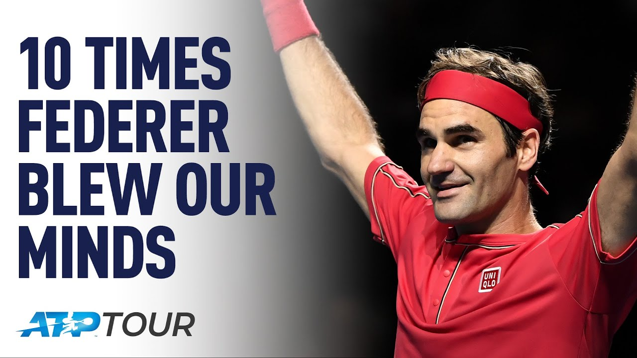 10 Times Roger Federer Blew Our Minds | TOP 10 | ATP
