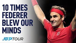 10 Times Roger Federer Blew Our Minds TOP 10 ATP