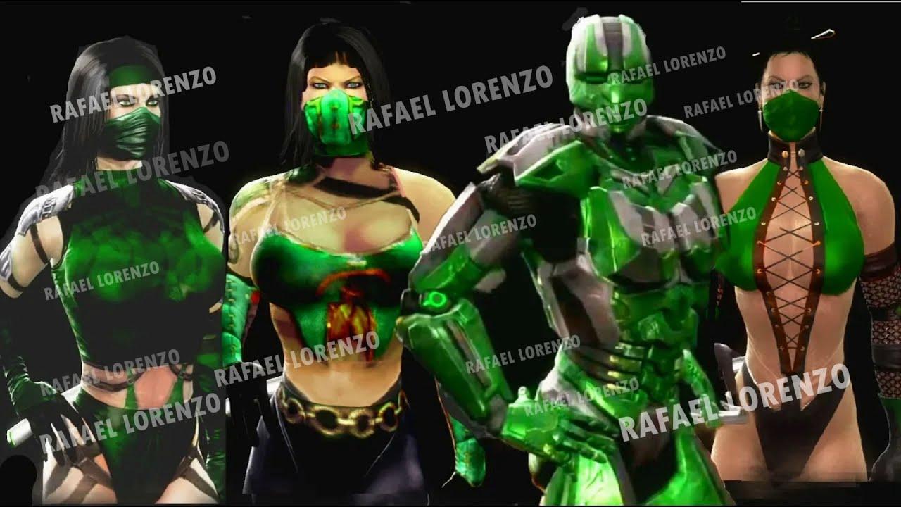 Mortal Kombat 9 - All Fatalities & X-Rays on Sapphire Jade