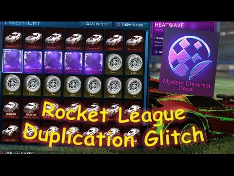 ACTUAL DUPLICATION GLITCH IN ROCKET LEAGUE!! PS4, XBOX ONE & PC