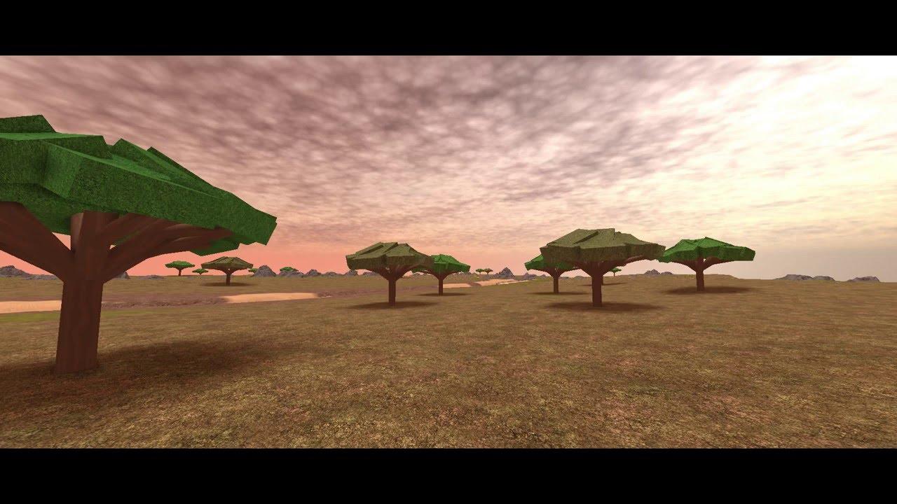 ROBLOX - Smooth terrain Safari speed build!