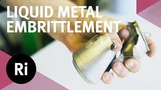 Liquid Metal Embrittlement - Gallium vs. Aluminium