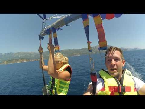 Parachute ascensionnel Montenegro
