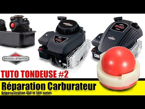 D montage nettoyage et r paration carburateur briggs stratton 148cc repeatvid - Nettoyage carburateur tondeuse ...