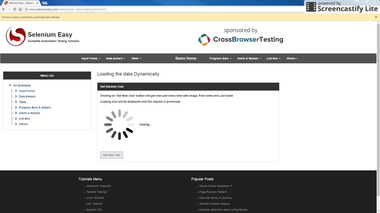 Selenium WebDriver – Handling AJAX with Awaitility