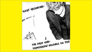 """Gary Valentine with Mumps """"The First One"""" b/w """"Tomorrow Belongs to You"""""""