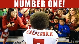Colin Kaepernick Has the #1 Selling Jersey in the NFL after Protest