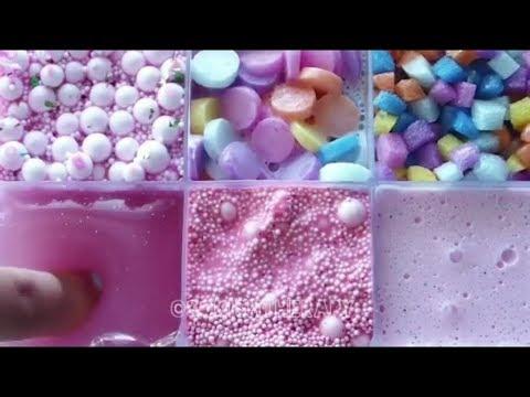 АСМР коробочки со слаймам/Asmr slime/ Slime girl
