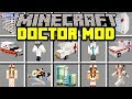 Minecraft DOCTOR MOD! | BUILD HOSPITAL AND SAVES LIVES OF VILLAGERS! | Modded Mini-Game